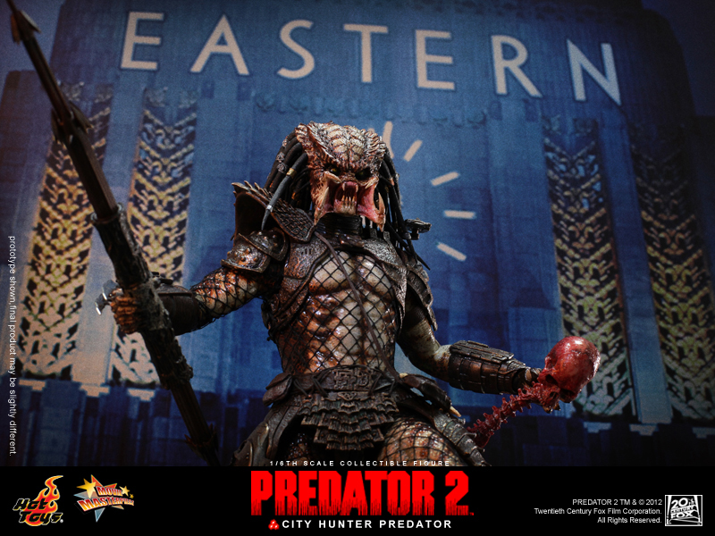 Hot Toys Predator 2 City Hunter Actionfannet