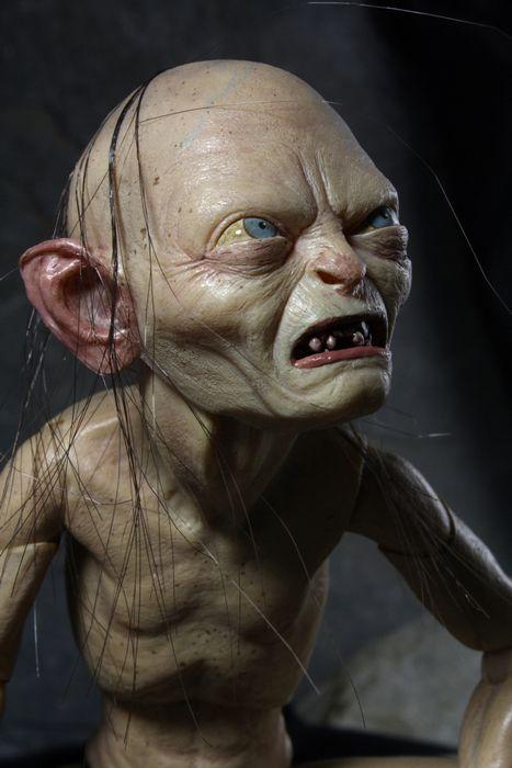 Lord Rings Gollum Says Dirty Hobbits